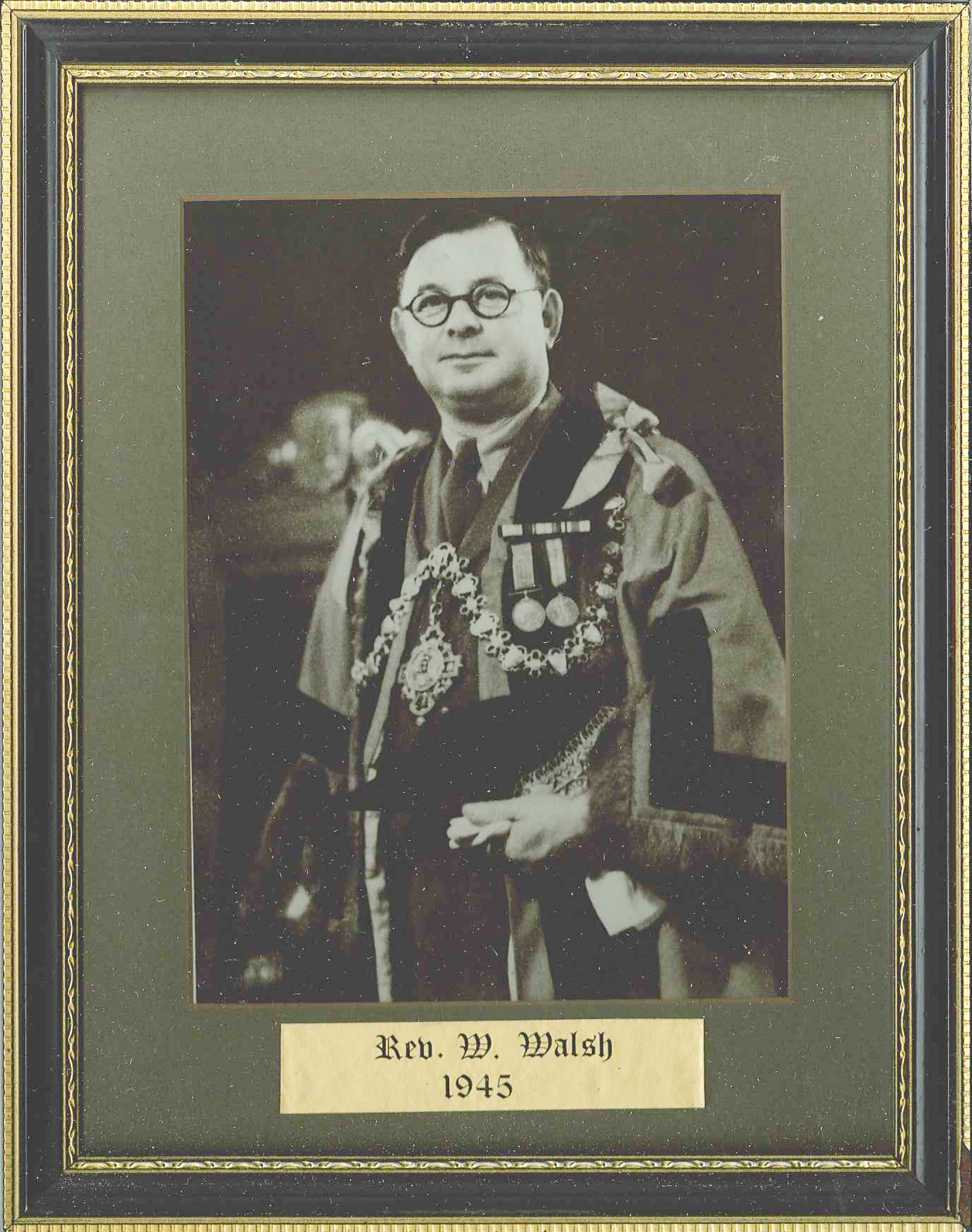 Image of /Rev. W. Walsh